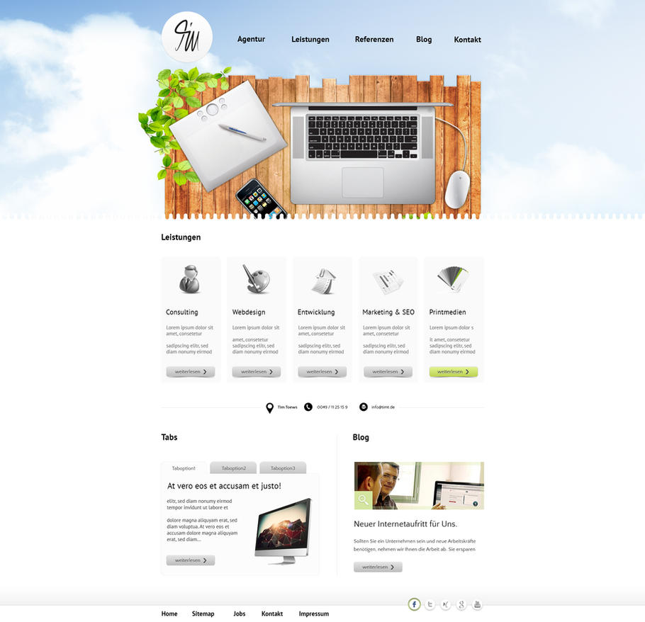 Portfolio - Webdesign by FUNKiNATiON