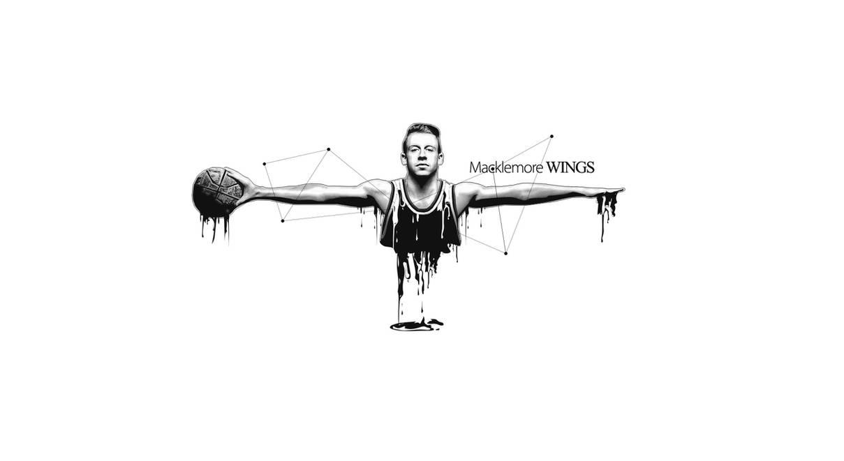 Macklemore Wings - Wallpaper