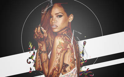 Rihanna Artwork