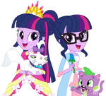 Twilight Sparkle as The Princess and the Pauper