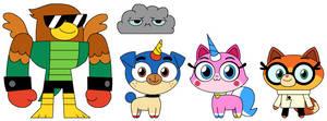 Unikitty Main Cast (Non-Lego Version)