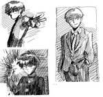 Mob Psycho 100 Sketches