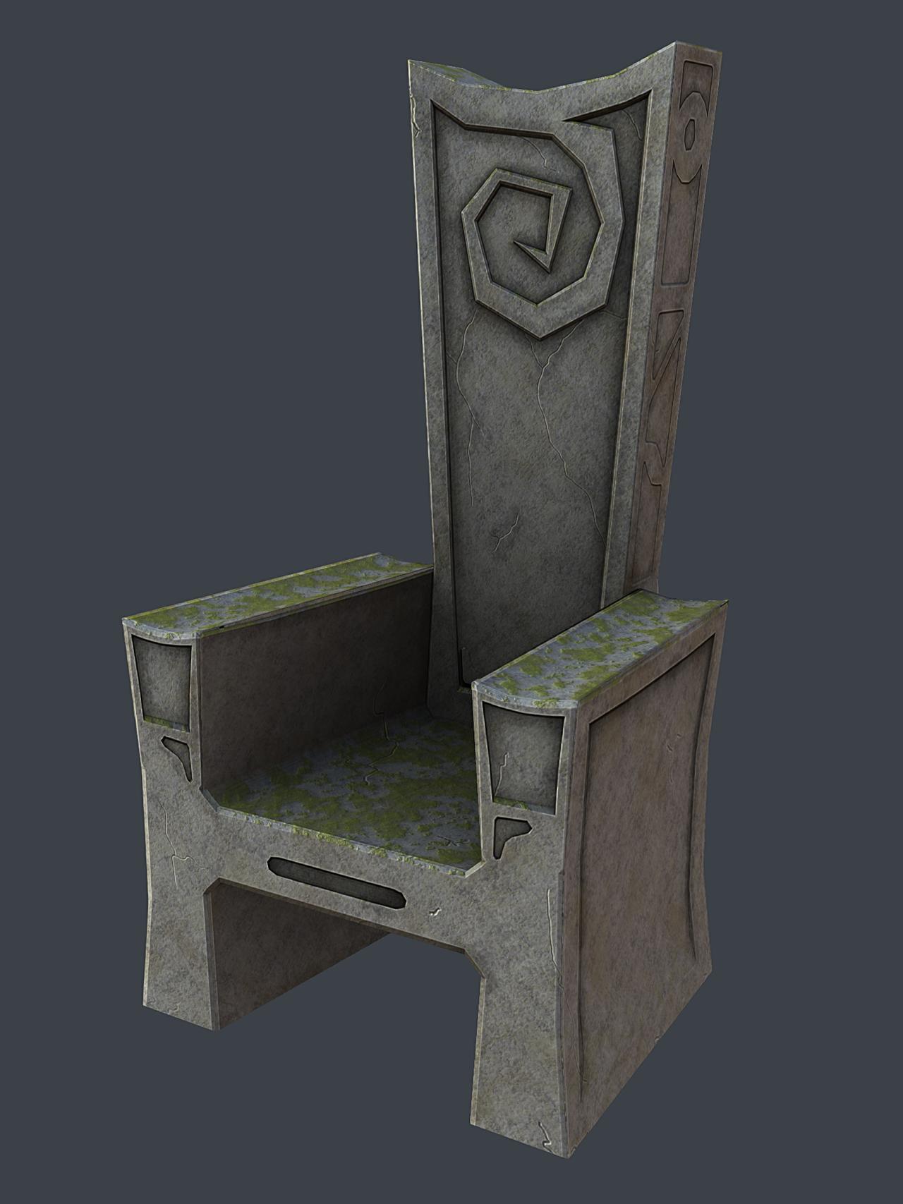 Stone Throne By Zacktor On Deviantart