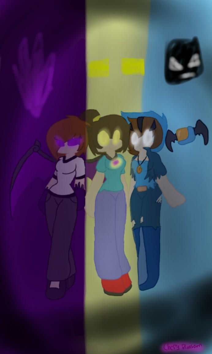Skybrine,Enderlox,Withermu as females by Kathy6424 on ...