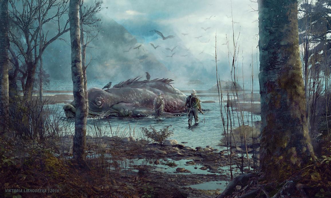 Quiet Harbor by likhodeeva