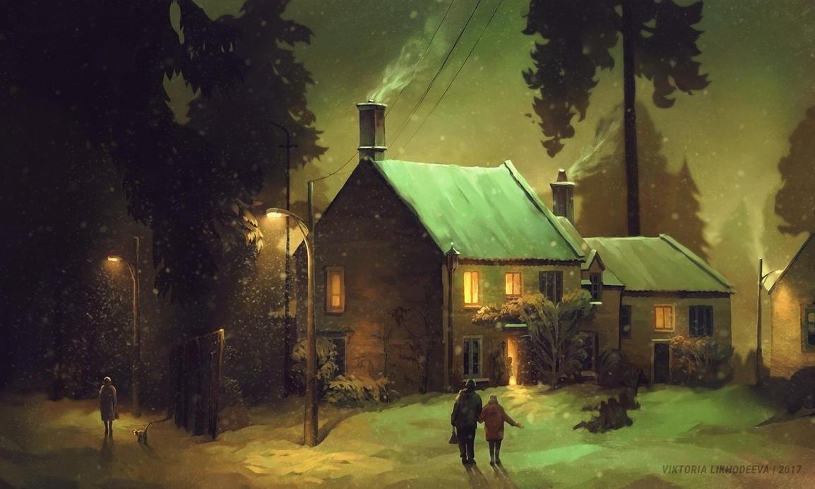 On the outskirts by likhodeeva