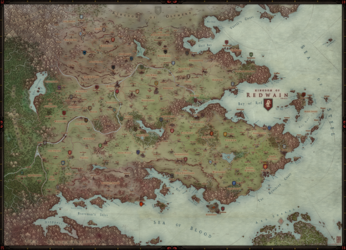Regional Map - Redwain by Levodoom