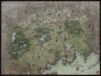 Regional Map - Ostmere by Levodoom