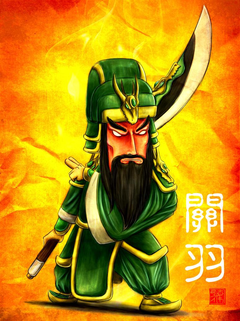 Ancient Warrior - Guan Yu Pt2 by GNAHZ on DeviantArt