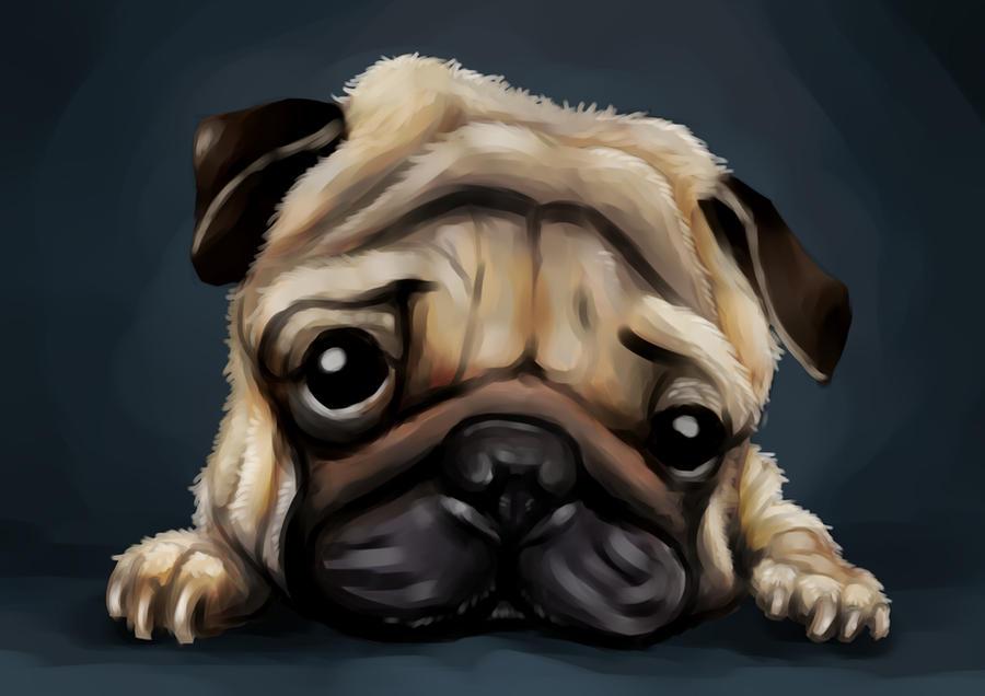 Pug U by GNAHZ