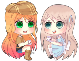Com Adaline And Alice by hatsukibambi