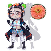 Halloween Adopt 14- auction (OPEN) by hatsukibambi