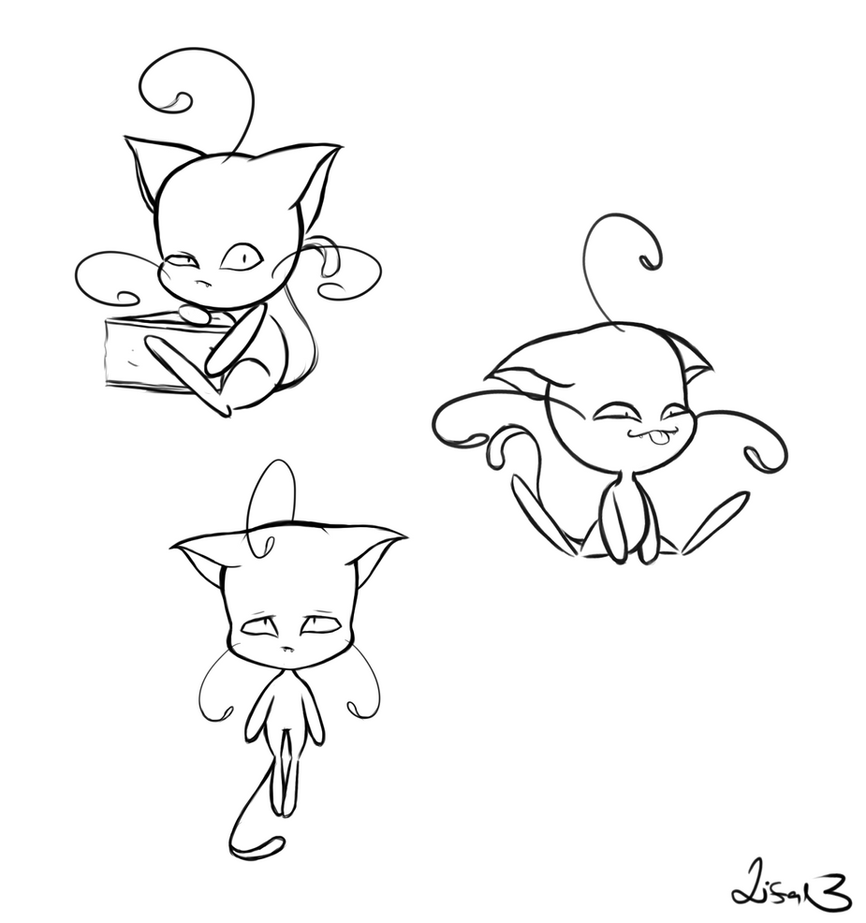 Plagg sketchies by lillpetal on
