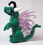 Green Fairy Dragon Plush
