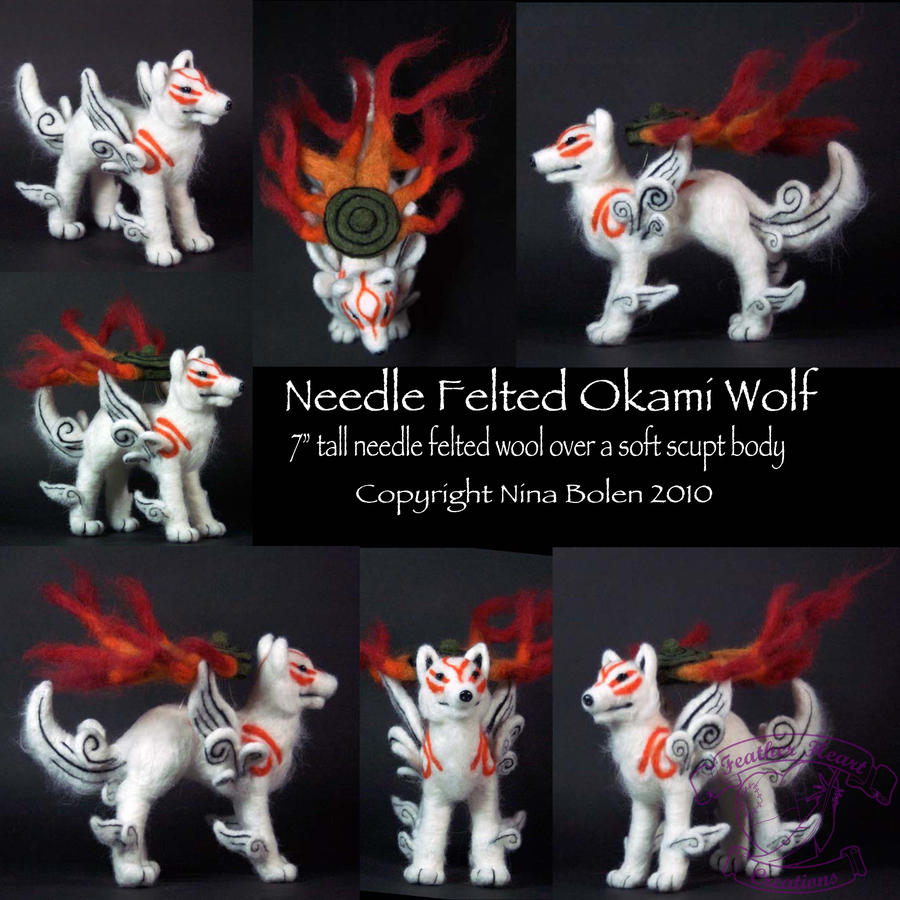 Okami Amaterasu Wolf Plush 2 by The-GoblinQueen