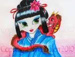 Geisha and Her Dragon