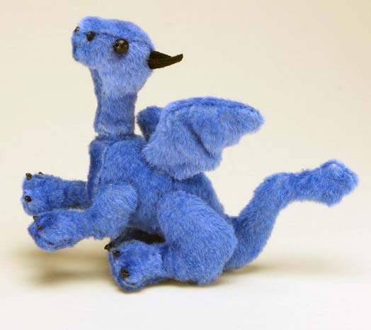 Mini Dragon Plush by The-GoblinQueen