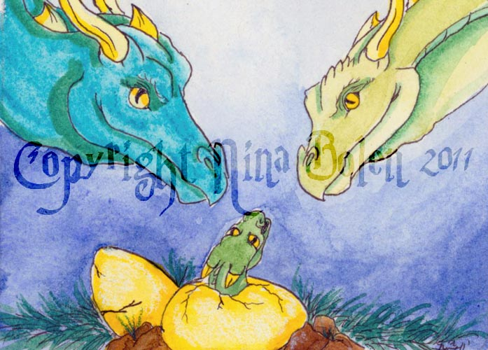 Proud Parents ACEO by The-GoblinQueen