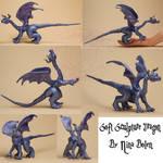 Blue Dragon Soft Sculpture
