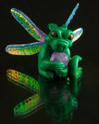 Little Green Pixie Dragon