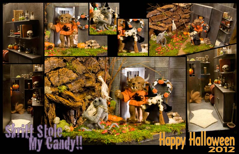 Guild Wars 2 Halloween Diorama by The-GoblinQueen