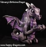 February's Birthstone Dragon