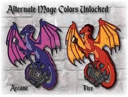 RPG Dragon Mage Alternate Colors