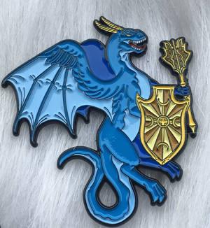 The Paladin Dragon Enamel Pin