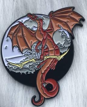 The Ranger Dragon Enamel Pin