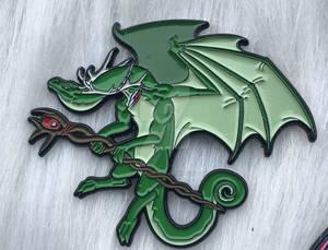 The Druid Dnd Dragon Enamel Pin