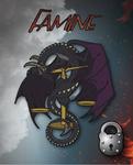 Famine Dragon Design by The-GoblinQueen