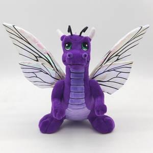 Dragon Flutter Plush Front view