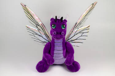 Dragon Flutter Plushie Front View