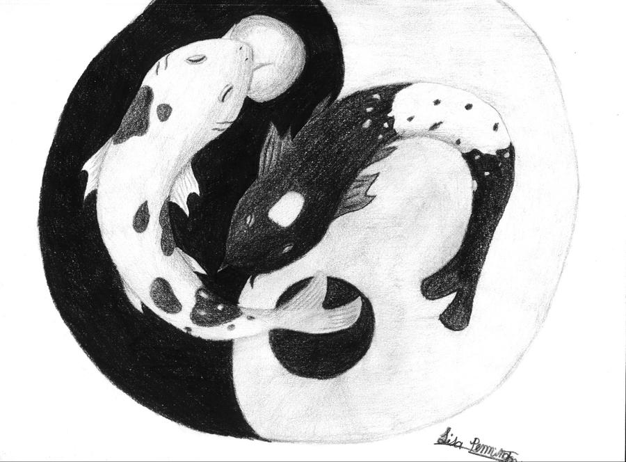 Ying yang koi fish by icegoddesswolf16 on deviantart ying yang koi fish by icegoddesswolf16 publicscrutiny Image collections
