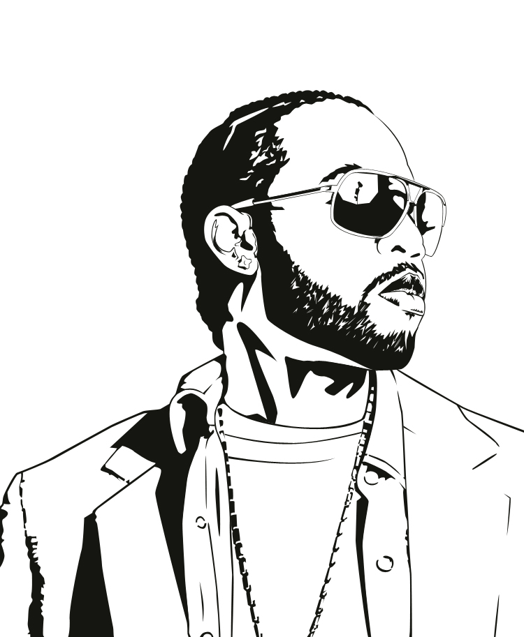 Dwele Portrait by boot-cheese-3000