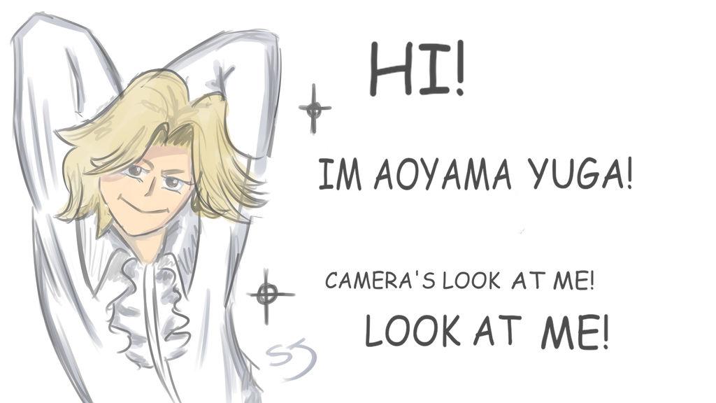 Aoyama Yuga Fanart From My Hero Academia By Shuuarts On