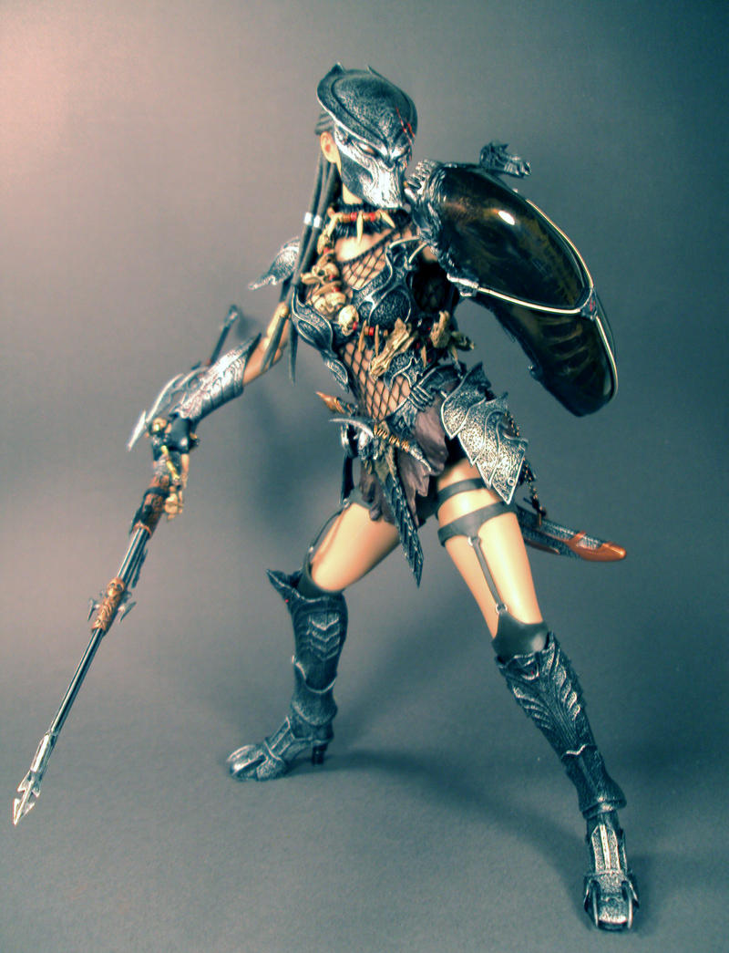 Machiko Nagouchi Predator by Unicron9