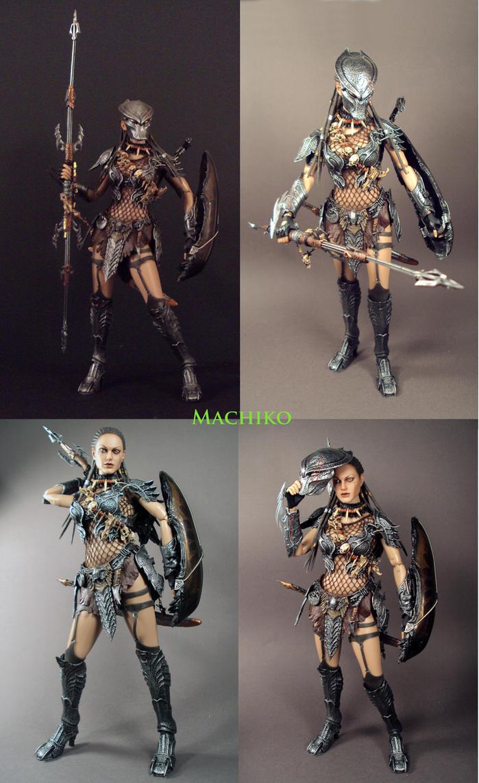 Machiko Noguchi Predator pics by Unicron9