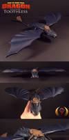 HTTYD Toothless Dragon custom