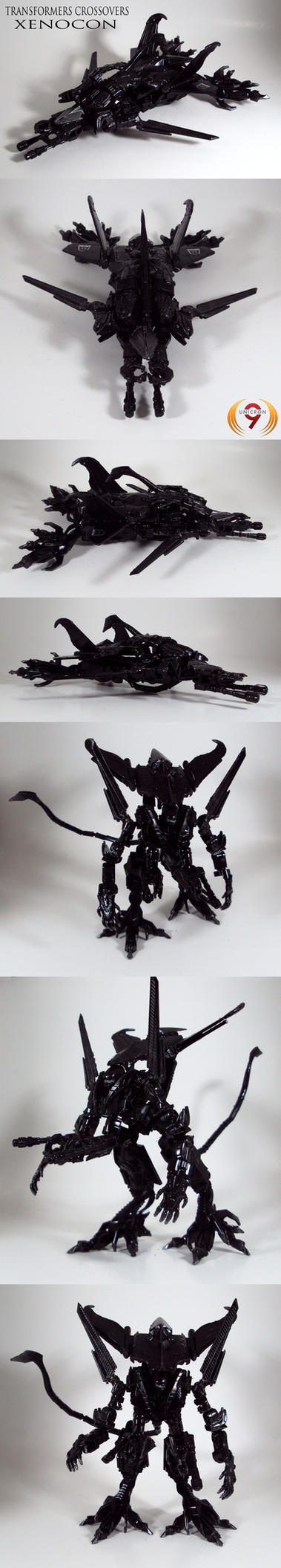 Queen Alien Transformer custom by Unicron9