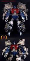 Primus Cybertron Custom by Unicron9