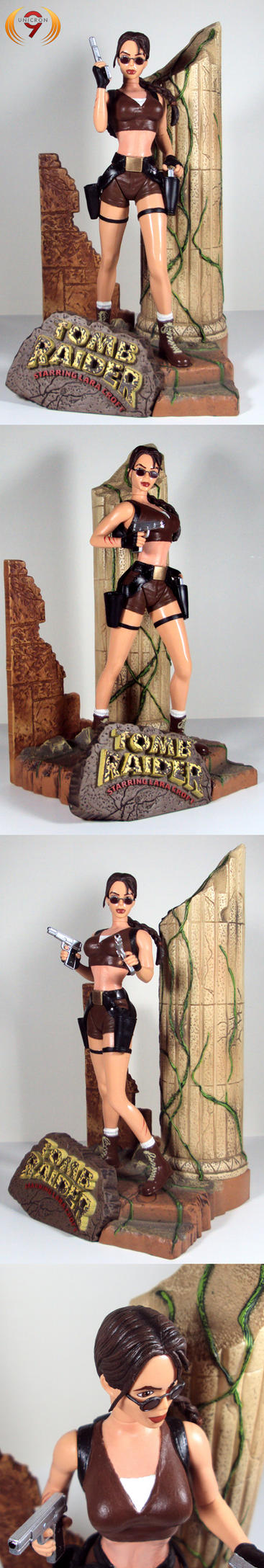Lara croft tied nackt photo