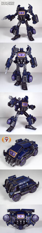 War for Cybertron Soundwave