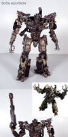 Movie accurate DOTM Megatron