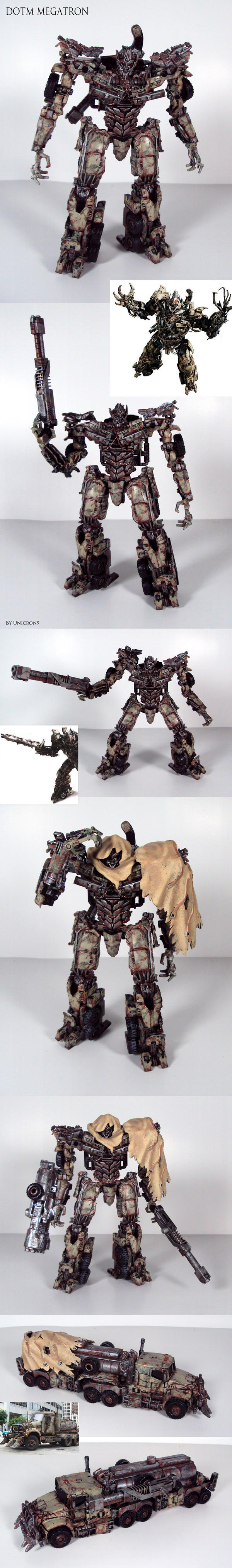 Movie accurate DOTM Megatron by Unicron9