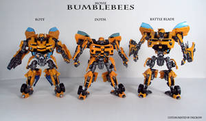 Movie Bees by Unicron9