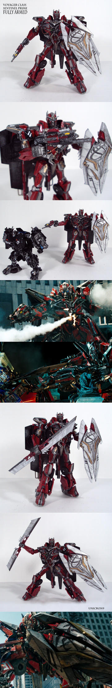 Ultimate DOTM Voyager Sentinel Prime by Unicron9