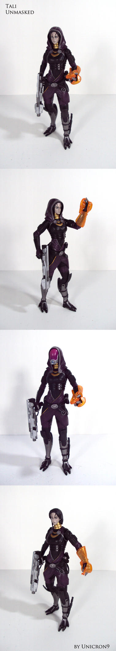 Mass Effect Tali Unmasked by Unicron9 on DeviantArt