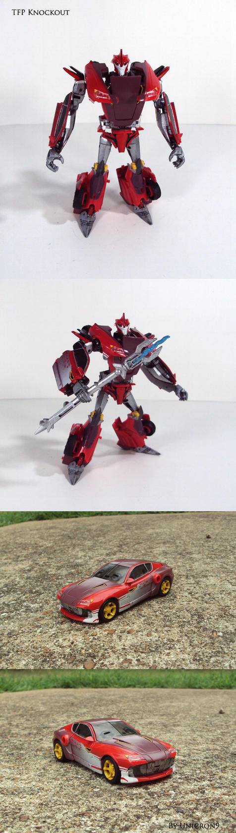 Transformers Prime Knockout by Unicron9 on DeviantArt