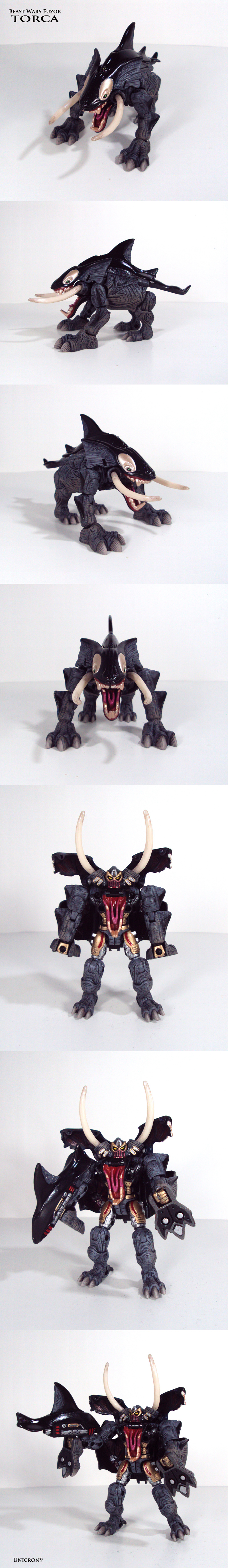 Beast Wars Fuzor: Torca by Unicron9